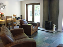 The large sitting room is ideal for relaxing during your holiday in Orkney