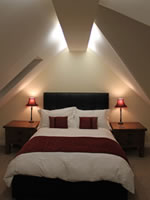 Kingston lodge in Orkney - master bedroom